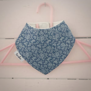 Vintage Dribble Bib Blue
