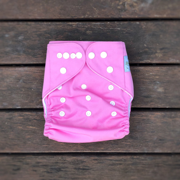 Modern Cloth Nappy - Baby Pink