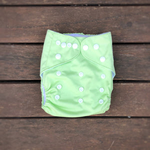 Modern Cloth Nappy - Lime Green