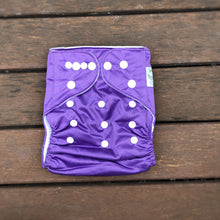 Load image into Gallery viewer, Modern Cloth Nappy - Purple