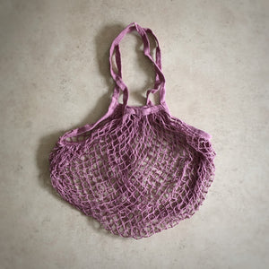 String Bag - Dusty Lavender