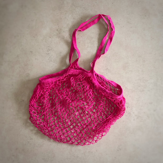 String Bag - Hot Pink