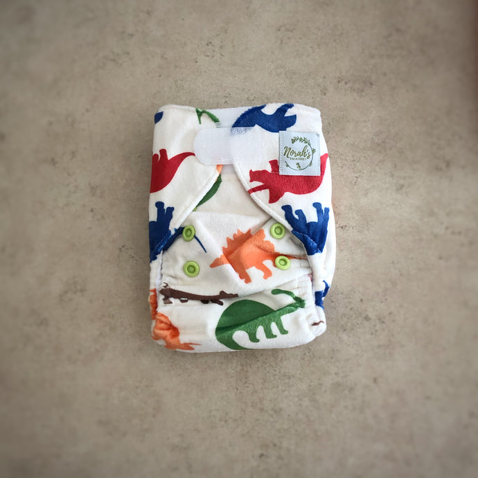 Newborn Pocket Nappy - Dino's