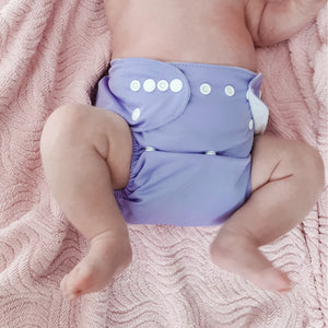 Modern Cloth Nappy - Lilac