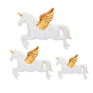 Unicornios Blancos Pared