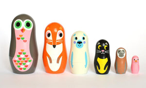 Matryoshka Animales
