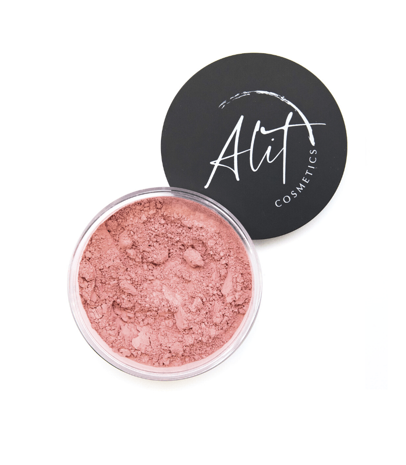 Mineral Blush (Pink Lake) Vegan - Alit Cosmetics Made_in_Australia - Toxin Free