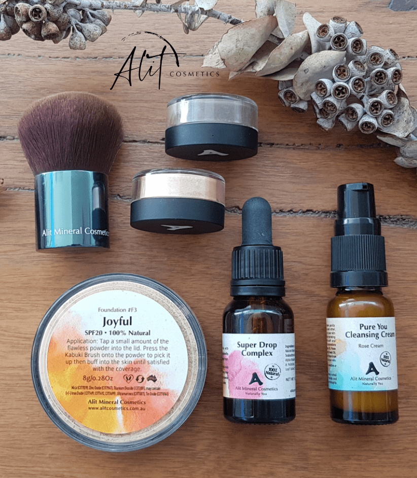 The RawNess Collection Vegan - Alit Cosmetics Made_in_Australia - Toxin Free General