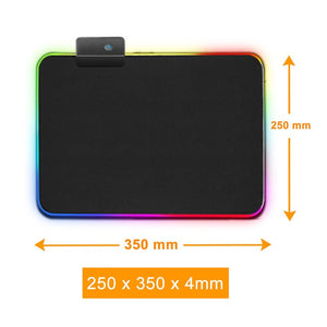 RGB Mouse Pad Gaming Mouse Pad Large Mousepad XXL Computer Mousepad RGB XL Mouse Pad Gamer Mousepad Keyboard Pads USB Mause Mat