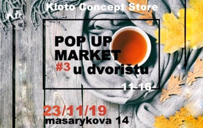 Pop Up Market #3 23/11/19