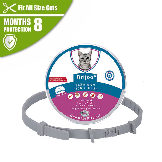 Brijoo® ANTI-FLEA AND TICK COLLAR - ADVANCED PROTECTION