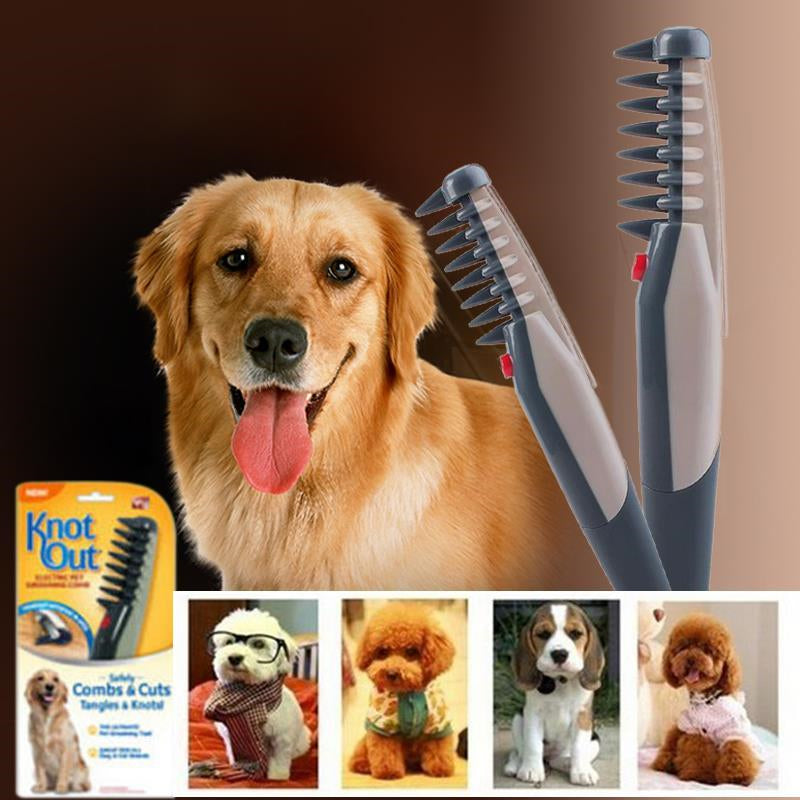 Electric Pet Knots and Tangles Remover