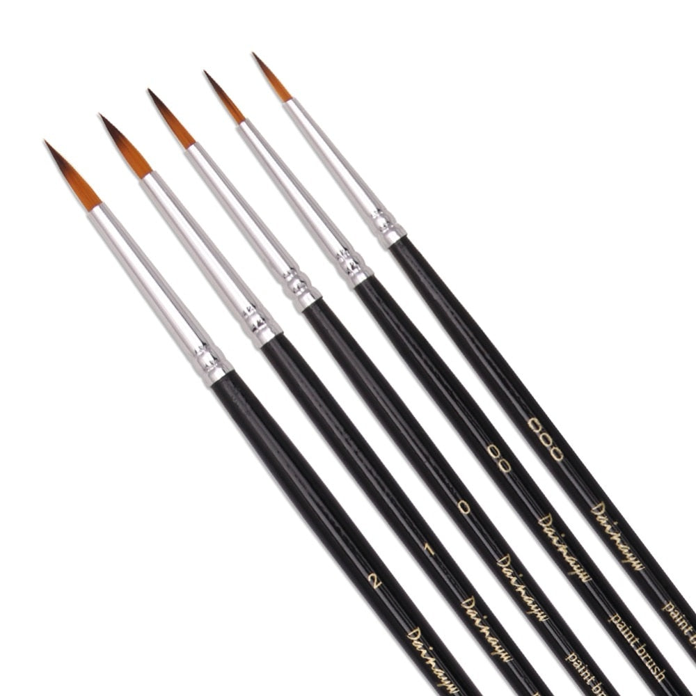 5Pcs/Set Fine Detail brush set