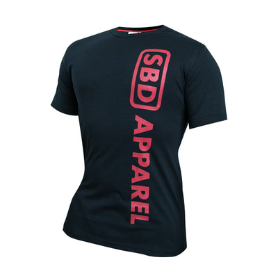 SBD T-Shirt - Black & Red