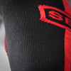 Deadlift Socks - Black & Red