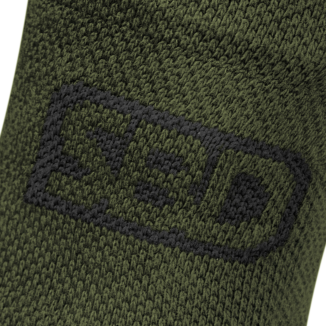 Sport Socks - Green w/Black - Endure Range