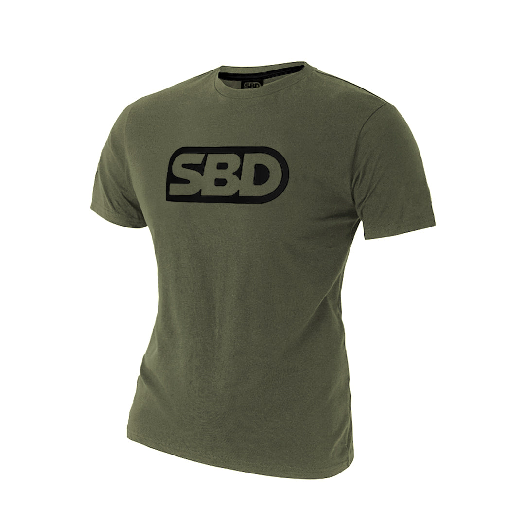 T-Shirt - Green w/Black - Endure Range