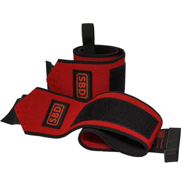 Wrist Wraps - Black & Red