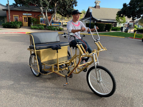 Custom Pedicabs