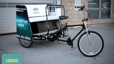 Used 3 Seater Pedicab Rickshaw Bikes for Sale!