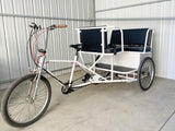 Used 5 seater rickshaw pedicab for sale