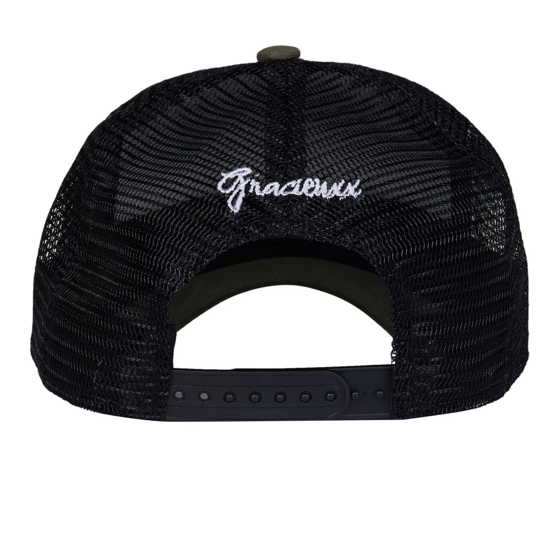 Stay Gracieuxx Ltd Edition Trucker Cap-Kaki