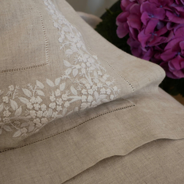 A Brief History of Embroidered Bed Linen