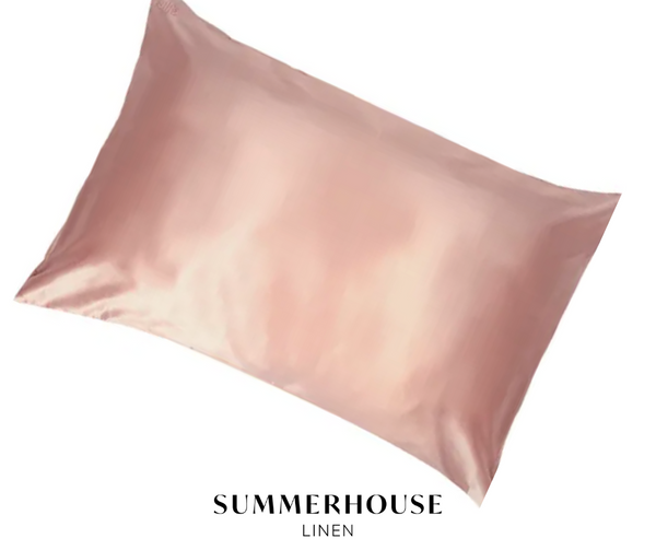 SILK PILLOWCASE - ROSE