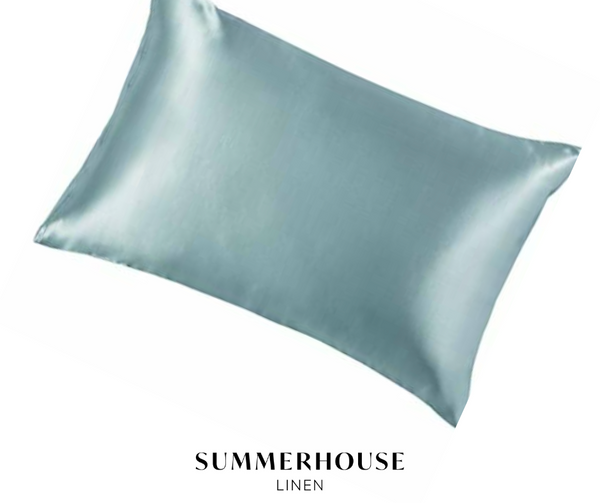 SILK PILLOWCASE - SEA SPRAY