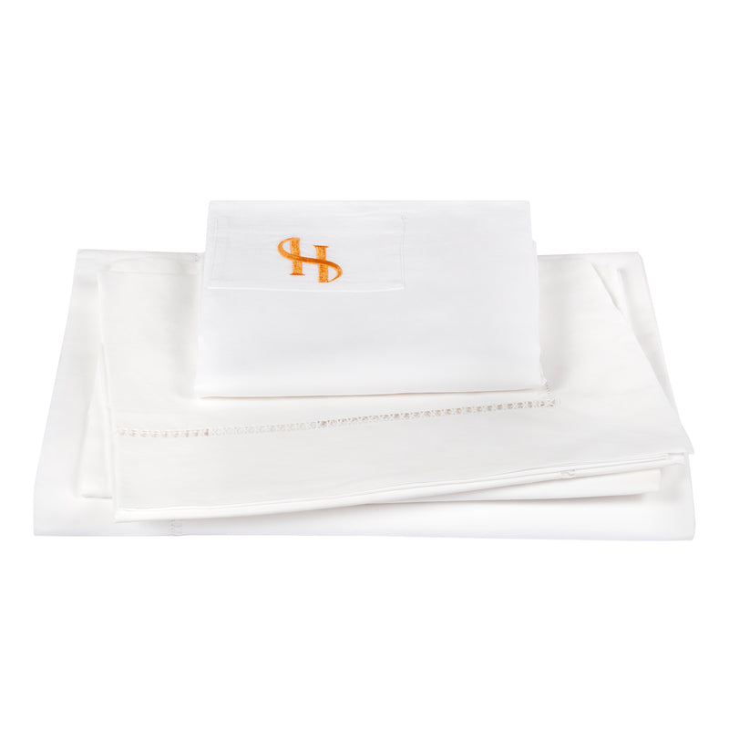 LADDER CROSS - EGYPTIAN COTTON TOP SHEET SET