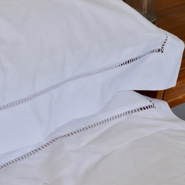"LADDER CROSS - EGYPTIAN COTTON DUVET SHEET SET ""NEW"""