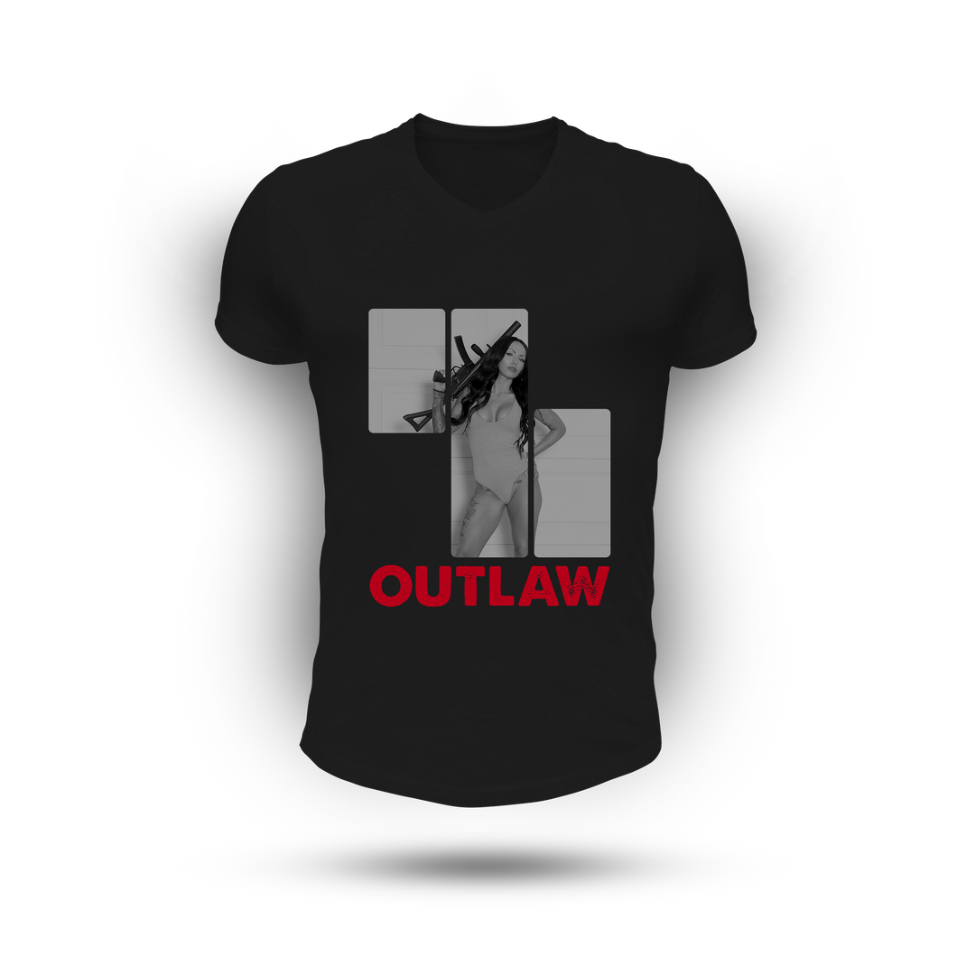 Outlaw Tee - BLACK (Men)