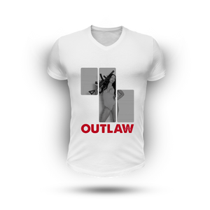 Outlaw Tee - WHITE (Men)