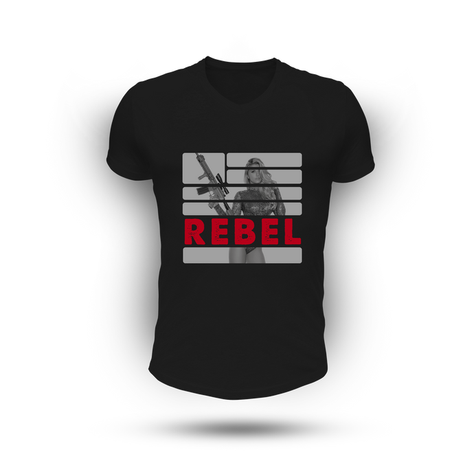 Rebel Tee - BLACK (Men)