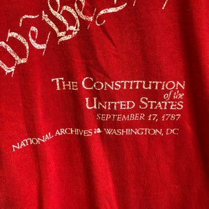 90s Constitution of the United States 'We The People' Shirt