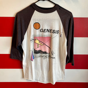 1987 Genesis 'Land of Confusion' Invisible Touch Tour Sold Out Raglan Shirt