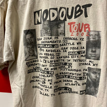 2002 No Doubt Rock Steady Tour Shirt