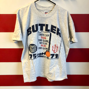 1993 Butler University vs IU 'They Can Talk The Game' Shirt