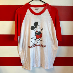80s Mickey Walt Disney World Shirt