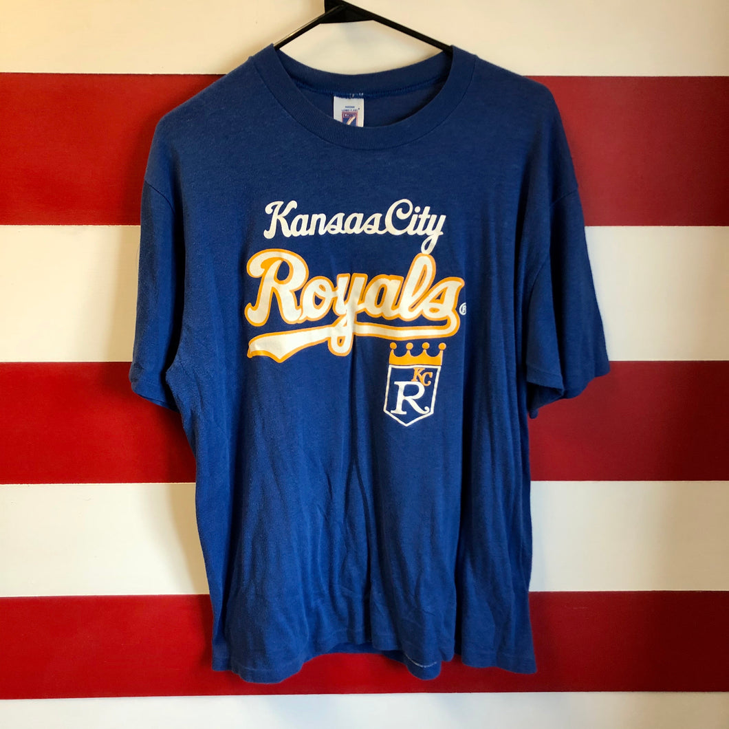 90s Kansas City Royals Logo 7 Shirt