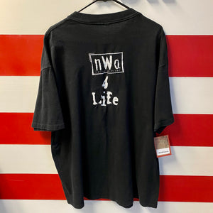 1998 NWO New World Order 4 Life WCW Shirt