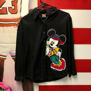 90s Mickey Unlimited by Jerry Leigh Button Up Shirt