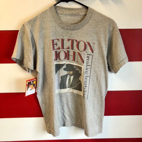 1984 Elton John Breaking Hearts Tour 'Everybody's Restless' Shirt