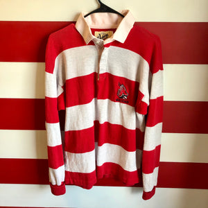 90s Ball State Stripe Rugby Shirt