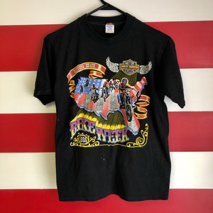 1986 Harley Davidson Daytona Beach Bike Week Shirt
