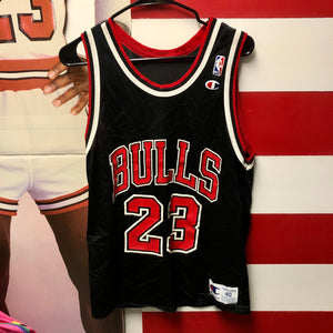90s Michael Jordan Chicago Bulls #23 Champion Jersey
