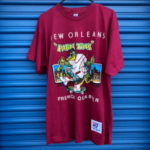 New Orleans 'Party Time' French Quarter Shirt