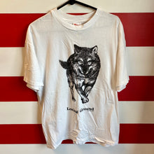 1990 Wolf 'Losing Ground' Human I Tees Brand Shirt