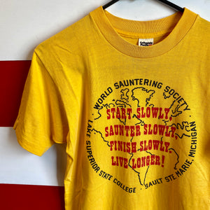 80s World Sauntering Society Shirt