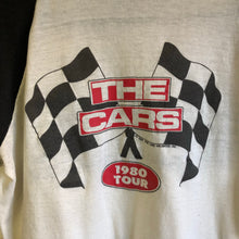 1980 The Cars Band '1980 Tour' Cutoff Raglan Shirt